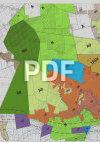 Plan de zonage bourg 2500e – PLU Mazé
